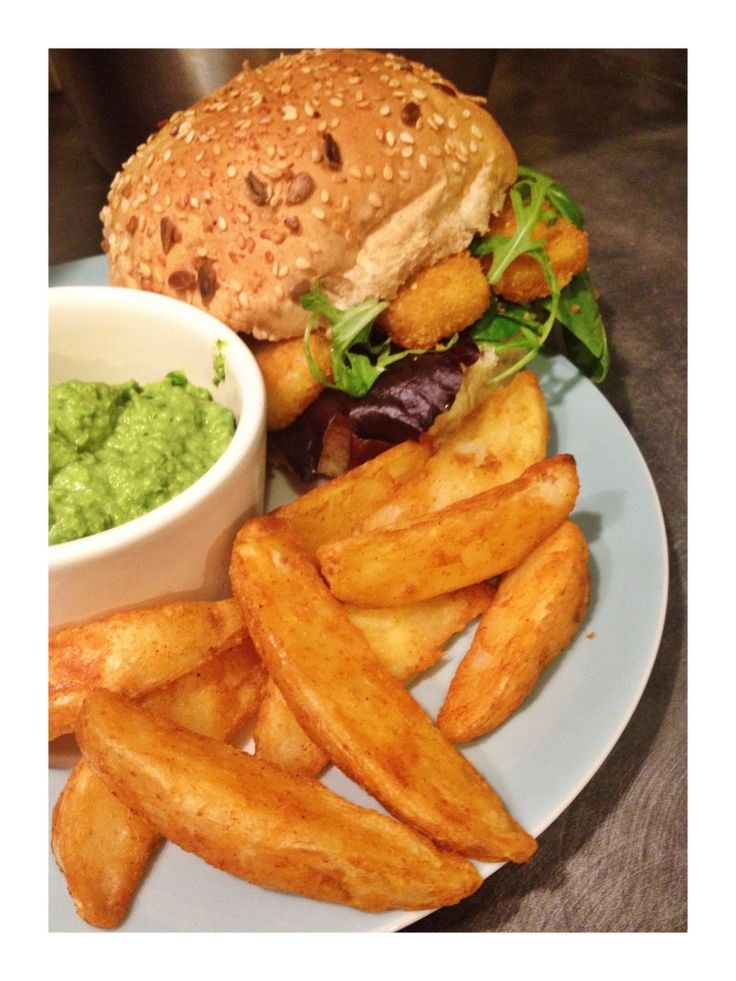Ultimate fish finger sandwich - comfort food at its best