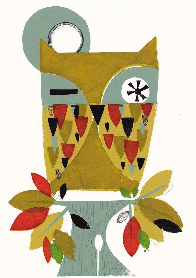 'Autumn Owl' by Holly Roach