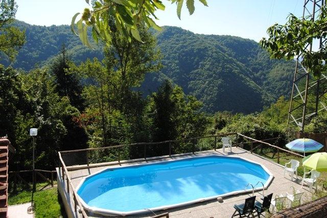 Kleine camping bij Lucca met zwembad #italie