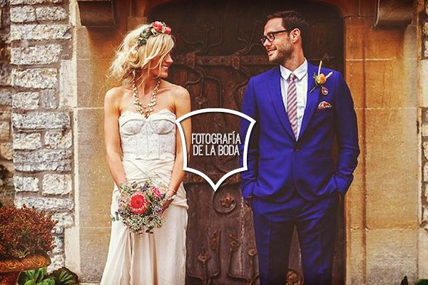 Las fotos del arreglo de la novia y del novio