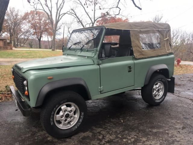 Land Rover Defender 90 Galvanized Chassis Soft Top Autos