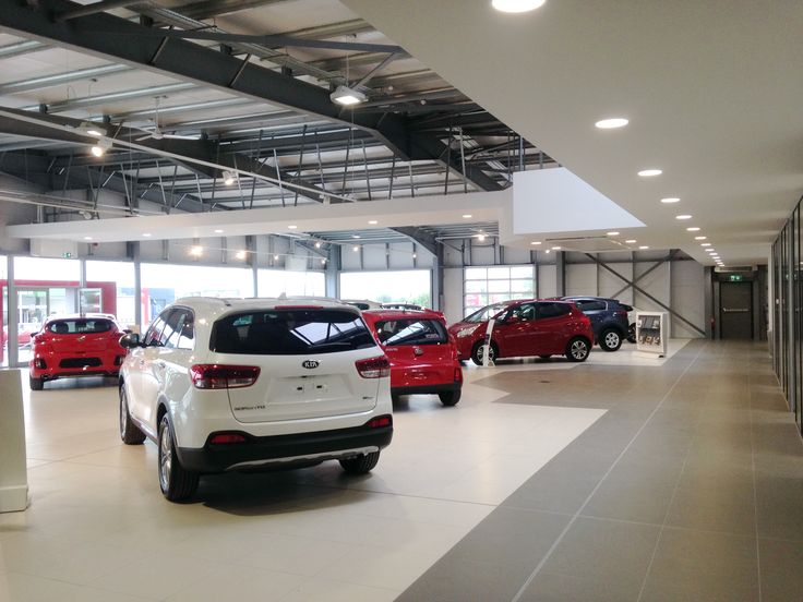 Horse & Jockey Kia Motors Showroom