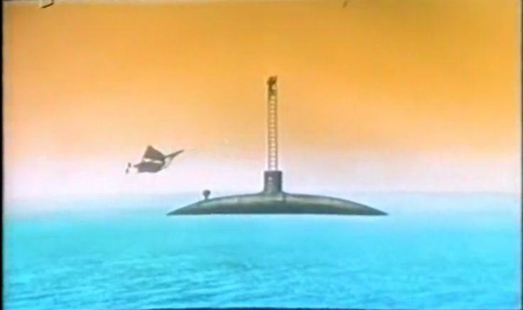 DAS GESTOHLENE LUFTSCHIFF (The Stolen Airship) (1967) Based loosely on Two Years Vacation and The Mysterious Island.