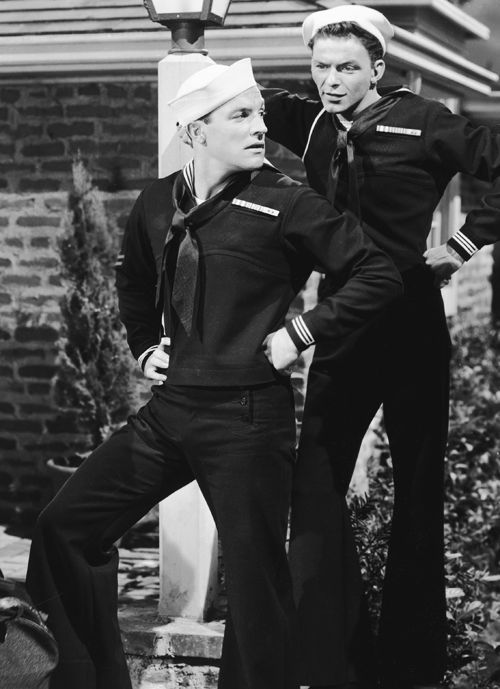 Gene Kelly and Frank Sinatra in 'Anchors Aweigh' (1945)