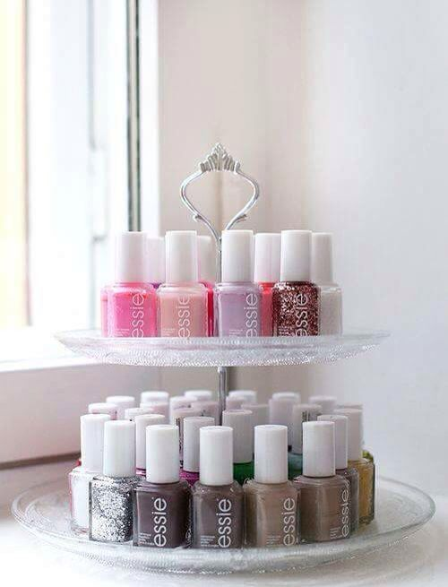 Nail polish diy rack