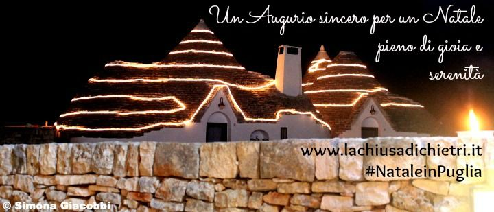 Buon Natale e Felice Anno Nuovo da tutto lo staff del Grand Hotel La Chiusa di Chietri!