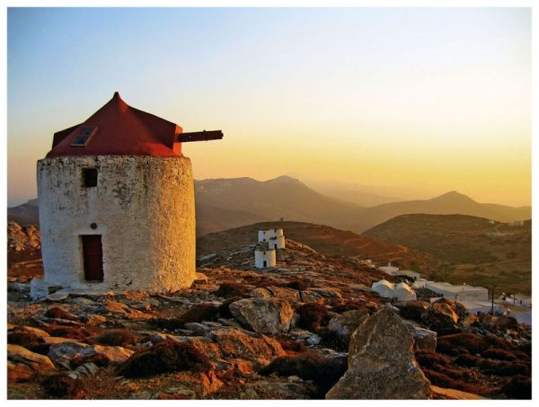 On the top of Chora / Amorgos island