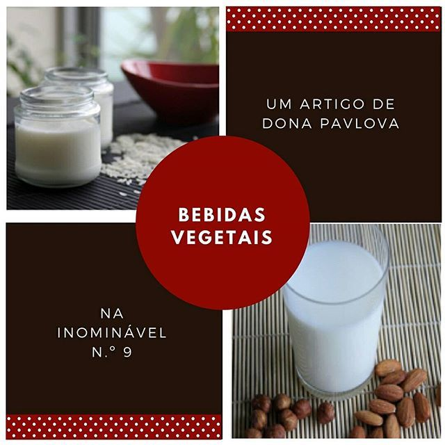 Huuuum...! Deliciosas! Aprendam a fazê-las na #revistainominavel n.º 9.  https://buff.ly/2w0U6Ey  #revistadigital #revistaonline #revista #revistaportuguesa #portuguesemagazine #portugal #bookstagram #instadaily #leitura #culinaria #bebidas #bebidasvegetais  [link in bio]