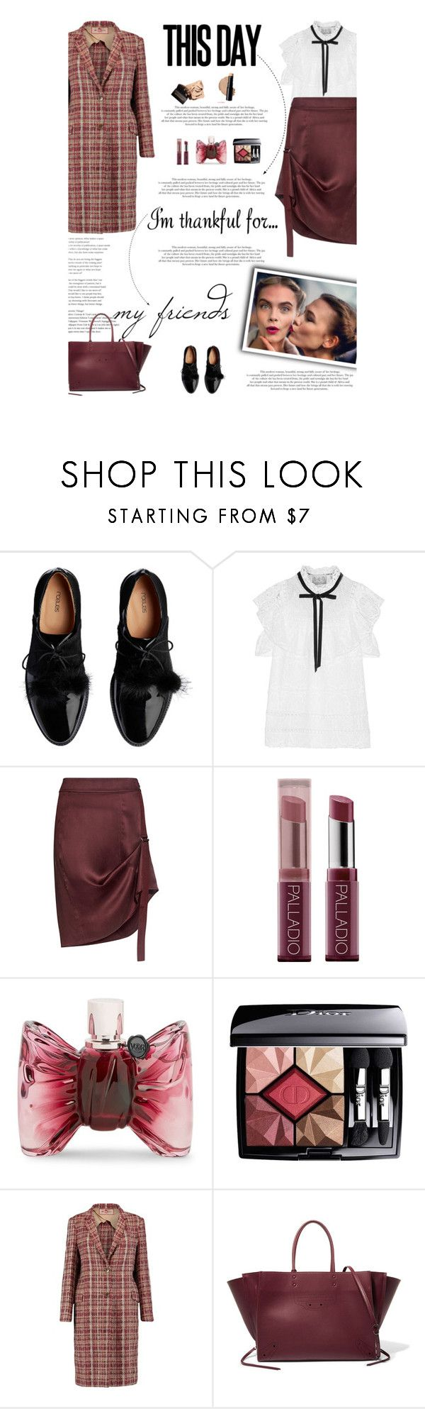 """I'm Thankful For..."" by amimcqueen ❤ liked on Polyvore featuring Sea, New York, Public School, Viktor & Rolf, Christian Dior, Etro and Balenciaga"