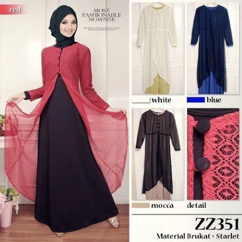 Gaun Muslim Trendi