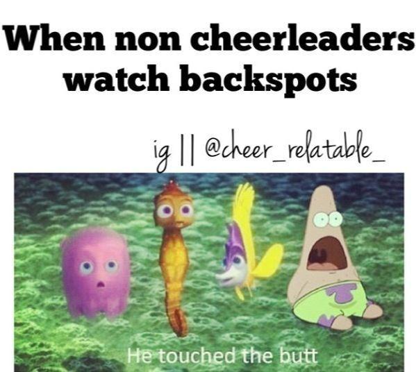Pin On Cheerleading Funny