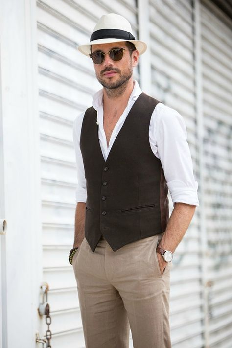 casual chic homme mariage