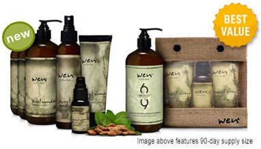 Wen Hair Care Deluxe Replenishing Kit | ◦Cleansing Conditioner  ◦Anti-Frizz Styling Creme  ◦ Replenishing Treatment Mist  ◦Straightening Smoothing Gloss  ◦SIXTHIRTEEN™ Ultra Nourishing Cleansing Treatment  ◦WEN® Travel Kit | $30-$120