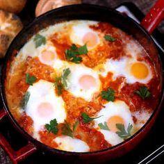 Знаете, что такое Шакшýка? Попробуйте этот рецепт - и она станет вашим любимым завтраком!