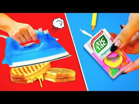 Weird Back to School Life Hacks EVERY College Student Should Know! - YouTube