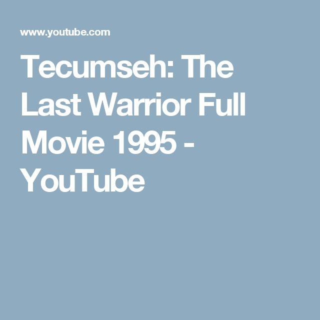 Tecumseh: The Last Warrior Full Movie 1995 - YouTube