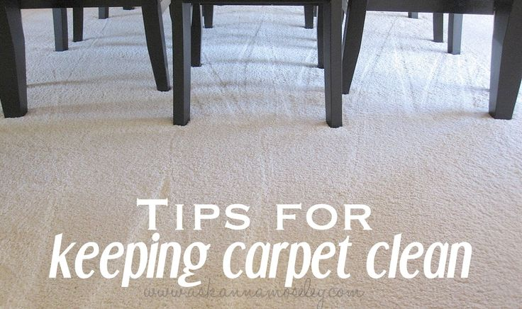 How To Keep Carpet Clean Get Stains Out Cleaning
