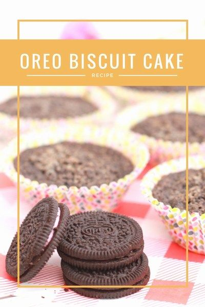 Oreo Biscuit Cupcake - ET Speaks From Home