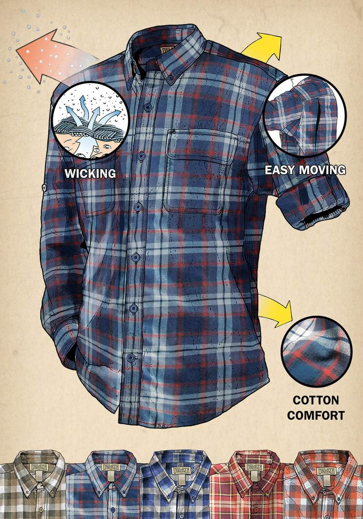 Bust axe in Free Swingin' Flannel from Duluth Trading Company. Get free-swingin' comfort for any job with flannel shirts from Duluth.