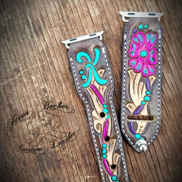 Tool Time With Jason Becker Custom Tooled Leather - COWGIRL Magazine