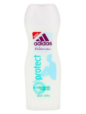 ADIDAS 250ml Protect Żel pod prysznic dla kobiet  • opracowany przy współpracy ze sportowcami  • zapewnia intensywne nawilżanie  • testowany dermatologicznie • żelowa konsystencja