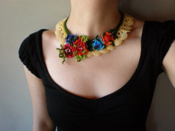 Chrysanthemum Indicum  Freeform Crochet by irregularexpressions