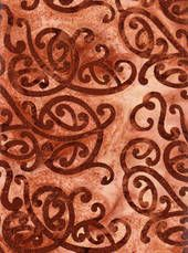 oooh! I like this fabric! NZ Koru batik. WOuld make a great back drop to some brightly coloured #kiwi #templates from Carol's quilts