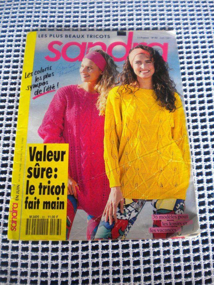 Catalogue Sandra Tricot : Matériel Tricot par l-atelier-de-nanie-tricot