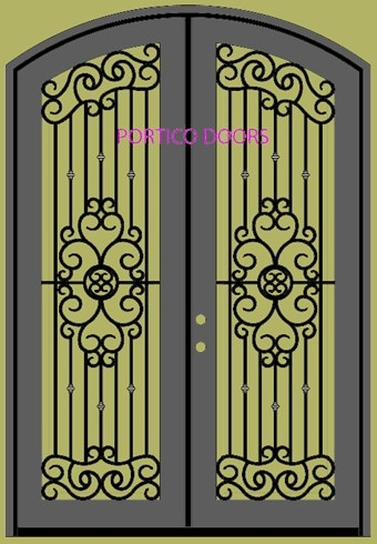 Wrought Iron Gate Crafts Shapes For Use In Crafts In