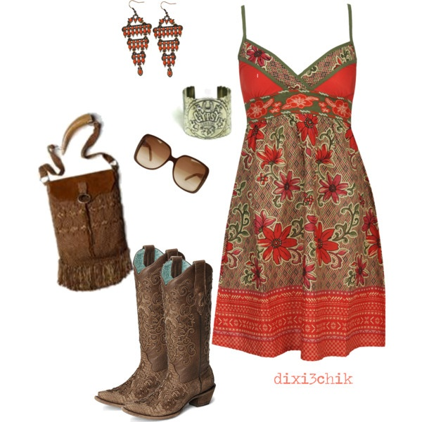 Cute Summer Outfits With Cowboy Boots   www.pixshark.com ...