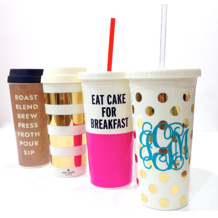 NEW kate spade new york tumblers and thermal mugs