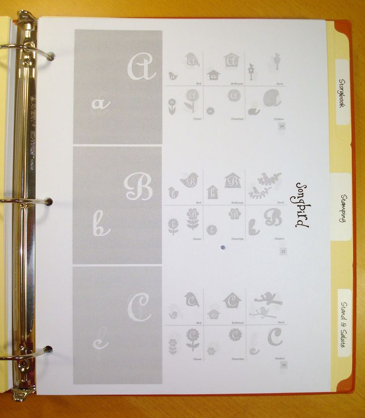 Scraproom: Cricut Cartridge Cheat Sheets - Example 1 Directions on How to print off larger graphics from the manuals of your cartridges...from cricut.com