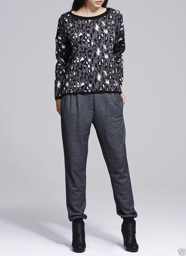UNQ Dammen Hose in Grau, Neu, Winter 2015, Gr.M,L,XL, Sportliche Jogging Pants in Kleidung & Accessoires, Damenmode, Hosen | eBay