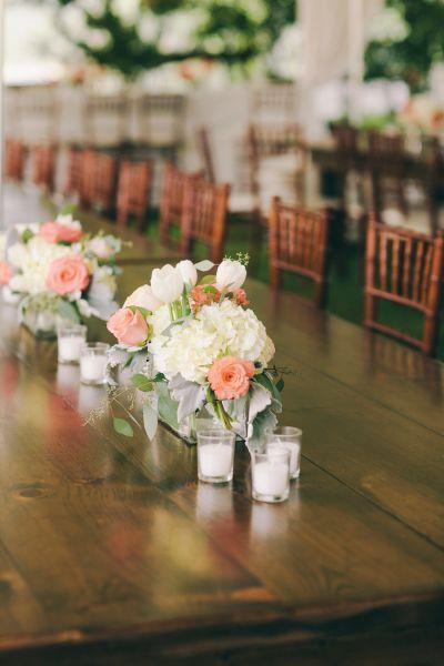 Spring blooms: http://www.stylemepretty.com/alabama-weddings/huntsville-al/2015/03/23/romantic-southern-wedding/ | Photography: Marrow by Glass Jar - http://marrowbyglassjar.com/