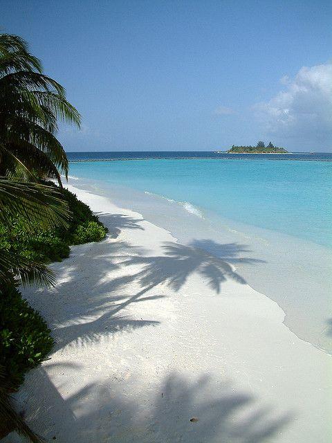 Vakarufalhi Dhoni Jetty, Maldives, Indian Ocean.
