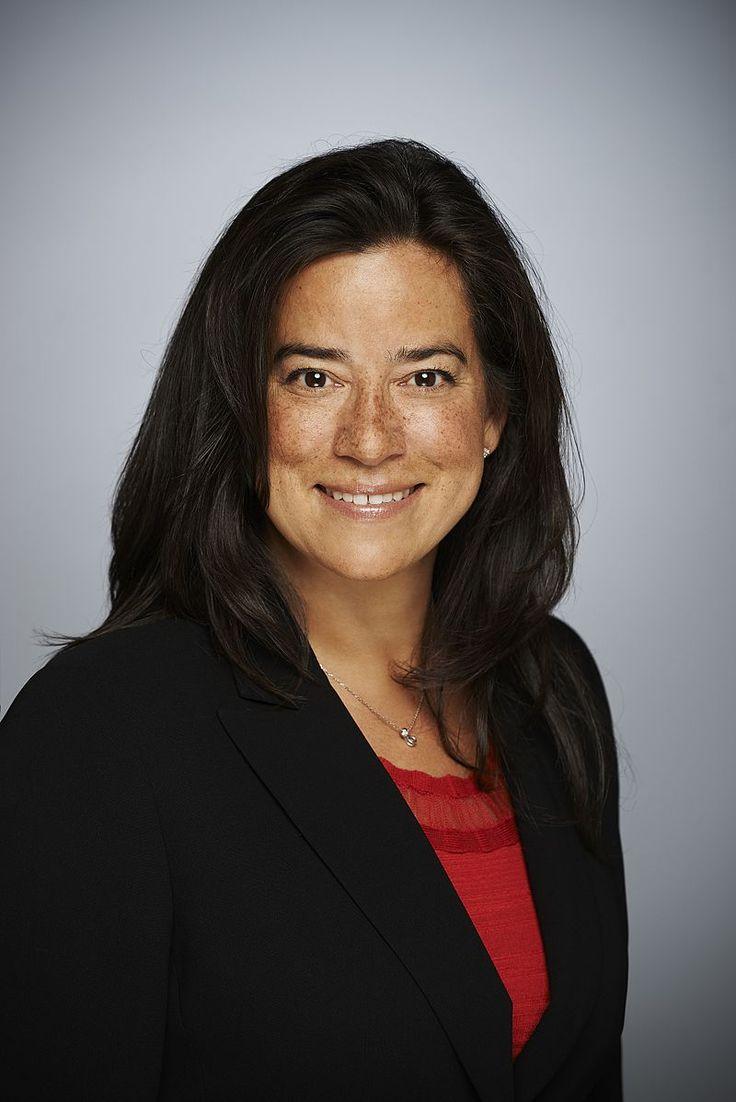 Jody Wilson-Raybould, Ministro della Giustizia del Canada (foto wikipedia)