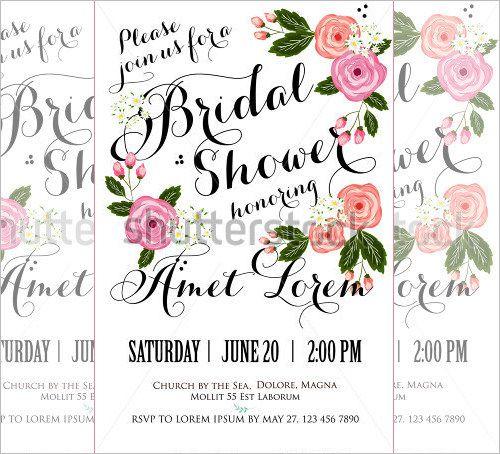 25+ Bridal Shower Invitations Templates | PSD Invitations | Free & Premium Templates | Free & Premium Templates