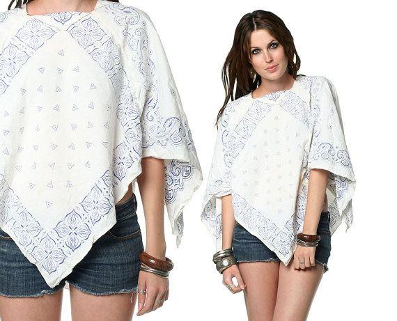 Scarf blouse | Vogue | Pinterest