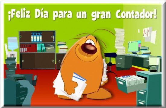 Tarjeta Día del Contador