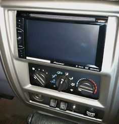 2-din radio install on jeep xj