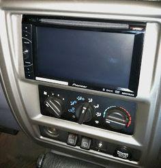 2-din radio install on jeep xj