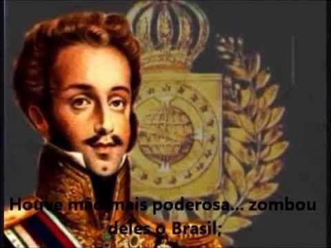 Hino da Independência do Brasil, com legenda e imagens dos feitos históricos. Trabalho apresentado no CEDUSP/ULBRA para celebração da semana da pátria.