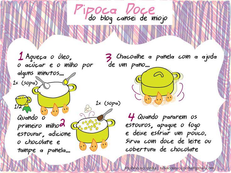 receitas e dicas ilustradas em português - Pesquisa Google