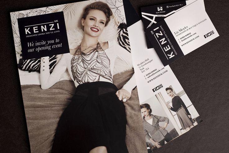 graphic design for Kenzi UK