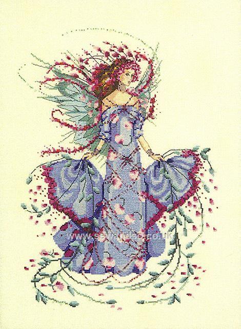 Buy MD132 - October Opal Fairy Chart Online at www.sewandso.co.uk