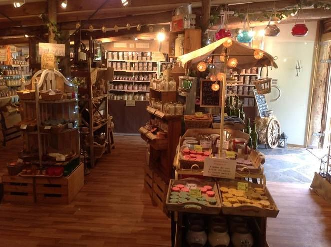 The 3 Wishes Candle Barn - hahndorf Adelaide - no nasties candles eco friendly and soy - have a gingerbread scent!!