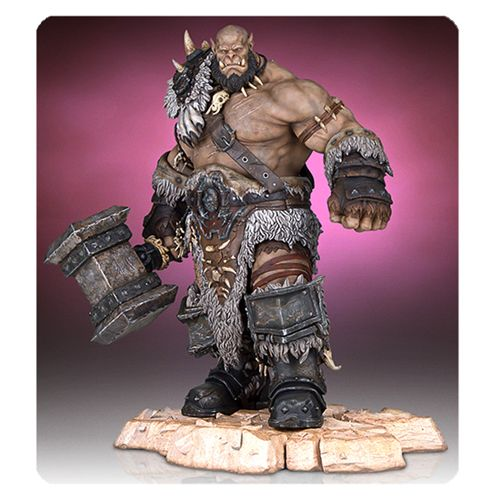 Warcraft  Orgrim Statue  Movie Coming in  * Nov- 2016*  Pre-Order Now  !!!