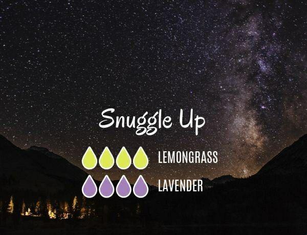 Snuggle Up Diffuser Blend #aromatherapysleepblends