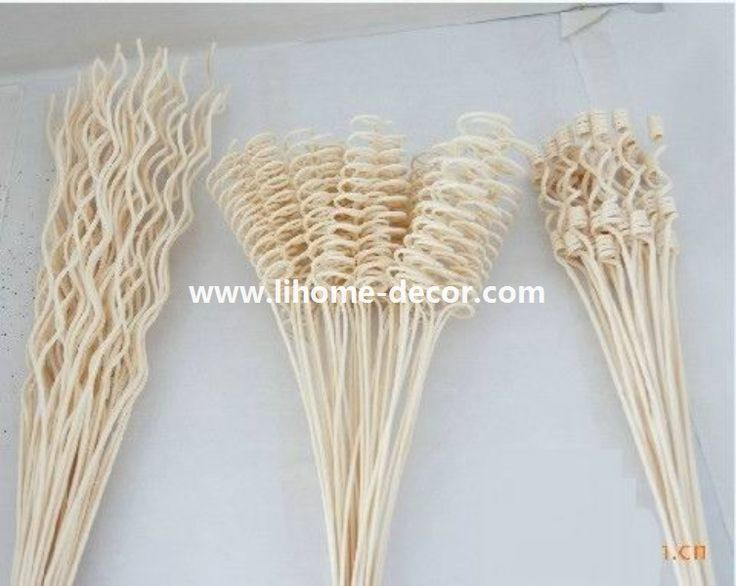 wholesale curly rattan stick for reed diffuser