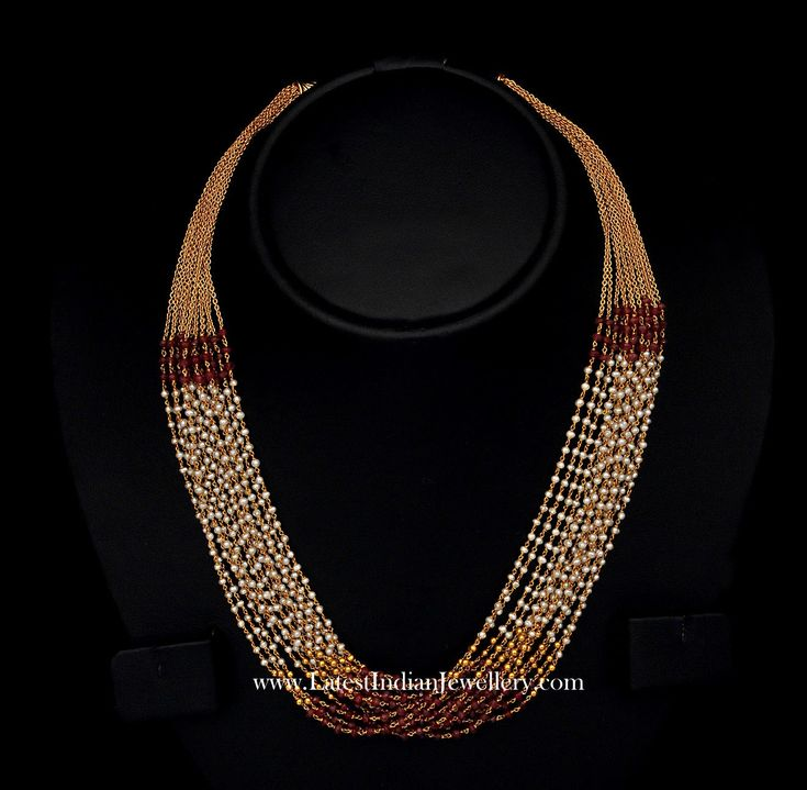 Pearl Multi Chain Necklace